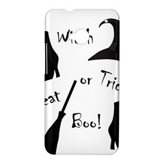 Halloween witch HTC One M7 Hardshell Case