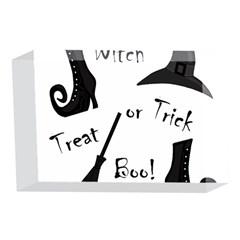 Halloween witch 4 x 6  Acrylic Photo Blocks