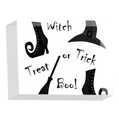 Halloween witch 5 x 7  Acrylic Photo Blocks