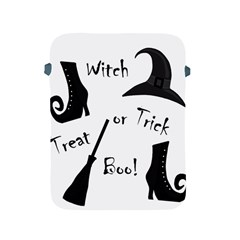 Halloween witch Apple iPad 2/3/4 Protective Soft Cases