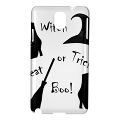 Halloween witch Samsung Galaxy Note 3 N9005 Hardshell Case