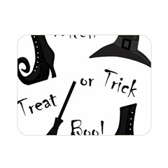 Halloween witch Double Sided Flano Blanket (Mini)