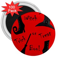 Witch supplies  3  Magnets (100 pack)