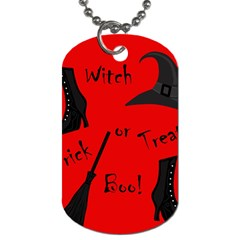 Witch supplies  Dog Tag (One Side)