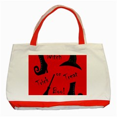 Witch supplies  Classic Tote Bag (Red)