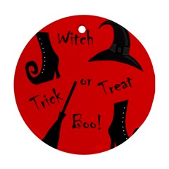 Witch supplies  Round Ornament (Two Sides)