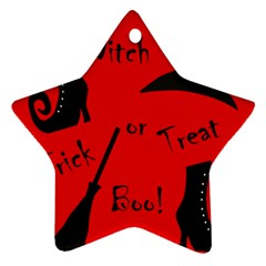 Witch supplies  Star Ornament (Two Sides)
