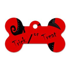 Witch supplies  Dog Tag Bone (One Side)