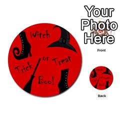 Witch supplies  Multi-purpose Cards (Round)