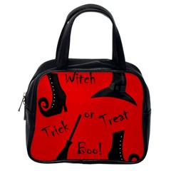 Witch supplies  Classic Handbags (One Side)