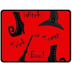 Witch supplies  Fleece Blanket (Large)