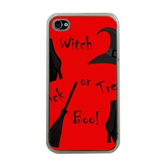 Witch supplies  Apple iPhone 4 Case (Clear)