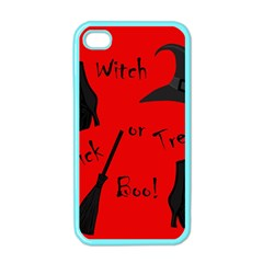 Witch supplies  Apple iPhone 4 Case (Color)