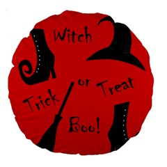 Witch supplies  Large 18  Premium Round Cushions