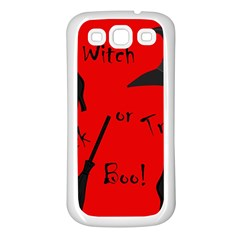 Witch supplies  Samsung Galaxy S3 Back Case (White)