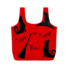 Witch supplies  Full Print Recycle Bags (M)