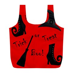 Witch supplies  Full Print Recycle Bags (L)