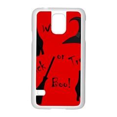 Witch supplies  Samsung Galaxy S5 Case (White)