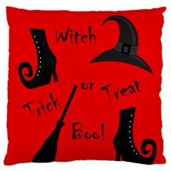 Witch supplies  Large Flano Cushion Case (Two Sides)