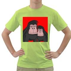 Gorillas Green T-Shirt