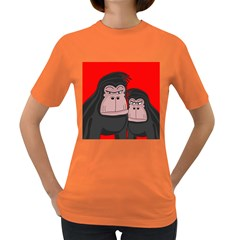 Gorillas Women s Dark T-Shirt