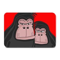 Gorillas Plate Mats