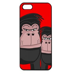Gorillas Apple iPhone 5 Seamless Case (Black)