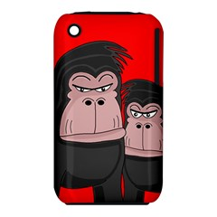Gorillas Apple iPhone 3G/3GS Hardshell Case (PC+Silicone)