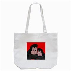 Gorillas Tote Bag (White)