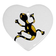 Lizard Ornament (Heart)
