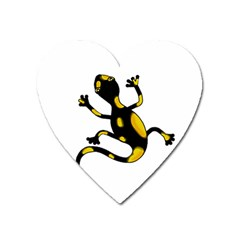 Lizard Heart Magnet