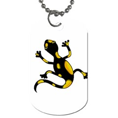 Lizard Dog Tag (Two Sides)