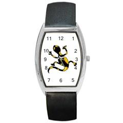 Lizard Barrel Style Metal Watch