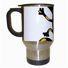 Lizard Travel Mugs (White)