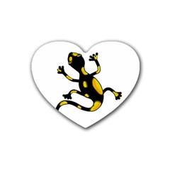 Lizard Heart Coaster (4 pack)