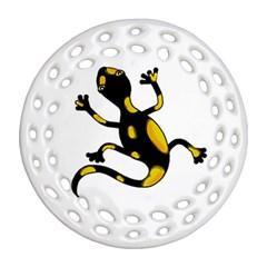 Lizard Ornament (Round Filigree)