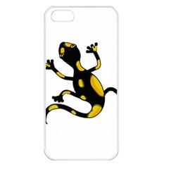 Lizard Apple iPhone 5 Seamless Case (White)
