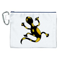 Lizard Canvas Cosmetic Bag (XXL)