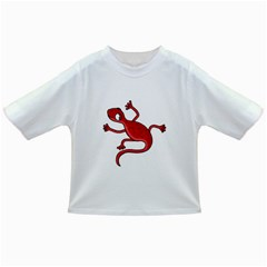 Red lizard Infant/Toddler T-Shirts