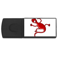 Red lizard USB Flash Drive Rectangular (1 GB)