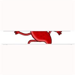 Red lizard Small Bar Mats