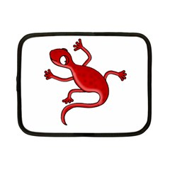 Red lizard Netbook Case (Small)