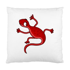 Red lizard Standard Cushion Case (Two Sides)