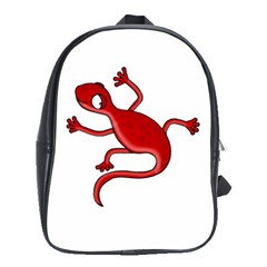 Red lizard School Bags(Large)