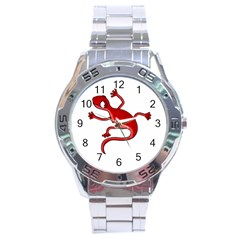 Red lizard Stainless Steel Analogue Watch
