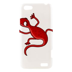 Red lizard HTC One V Hardshell Case