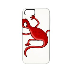 Red lizard Apple iPhone 5 Classic Hardshell Case (PC+Silicone)