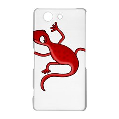 Red lizard Sony Xperia Z3 Compact