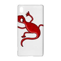 Red lizard Sony Xperia Z3+