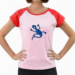Blue lizard Women s Cap Sleeve T-Shirt